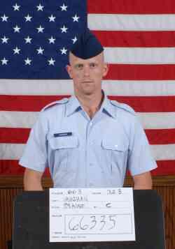 Air Force Airman 1st Class Blaine C. Vaughan
