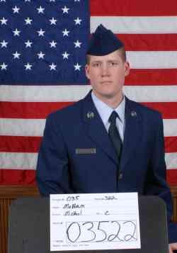 Air Force Airman Michael C. McHam