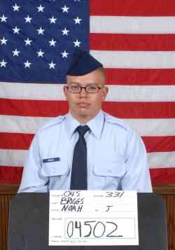 Air Force Airman Noah J. Briggs