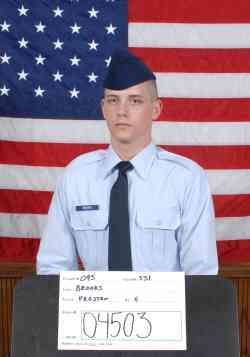 Air Force Airman Preston G. Brooks