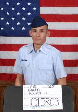 Air Force Reserve Airman 1st Class Michael Gallo
