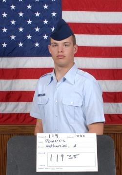 Air Force Airman Nathaniel A. Powers