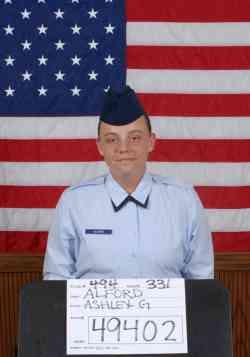 Air Force Airman 1st Class Ashley G. Alford