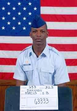 Air Force Airman 1st Class Marcus E.B. Shannon