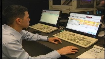 KTEN Engineers setup new video playback systems.