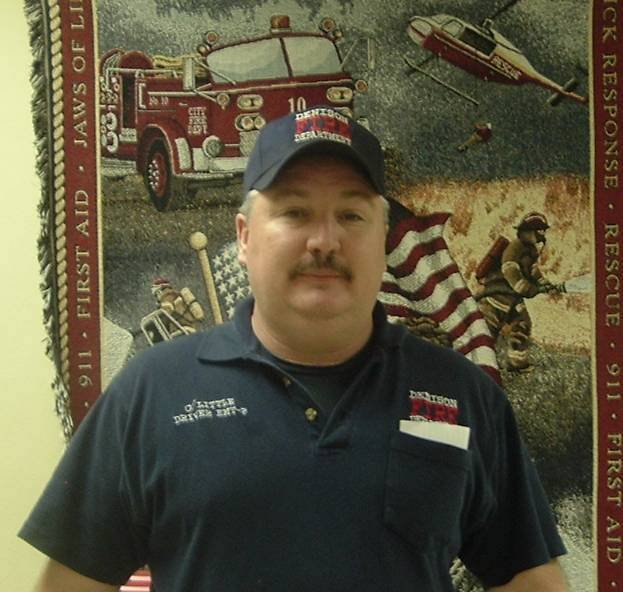 Clinton Little of the Denison FD