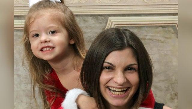 Heather Trimble with daughter Matilda (GoFundMe)