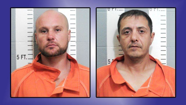 Nicolae Catel and Virgil Dinita (Carter County Sheriff)