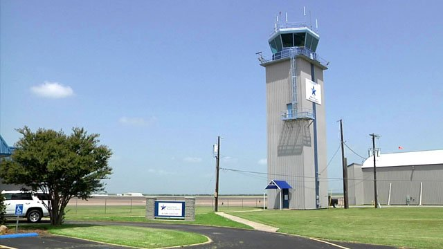 Control tower at North Texas Regional Airport. (KTEN)