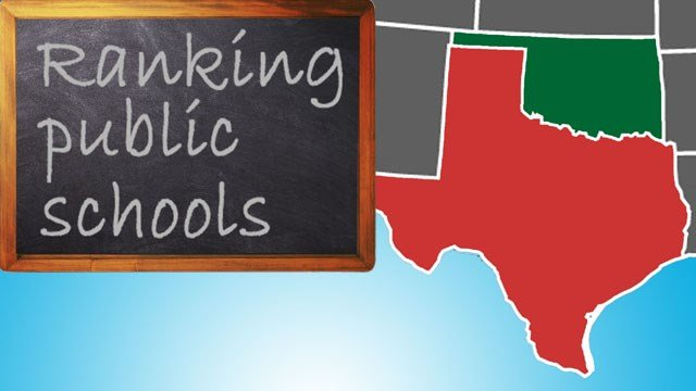 Study ranks Oklahoma schools over Texas