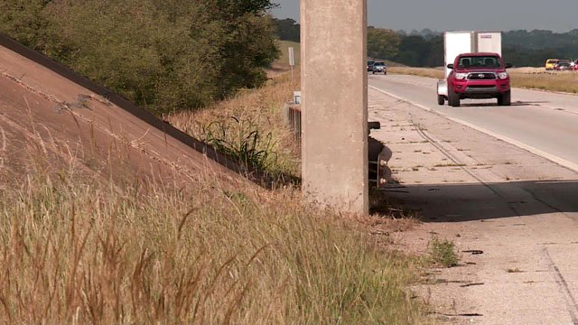 An Ada church group found a baby abandoned on the side of Interstate 40 in Oklahoma City. (KFOR)
