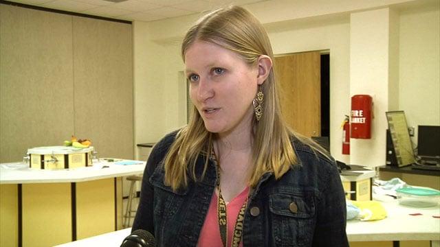 McDaniel Intermediate School teacher Sarah Heflin. (KTEN)