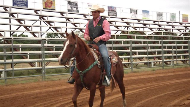 SOSU student George Wright wants to make rodeo his profession. (KTEN)