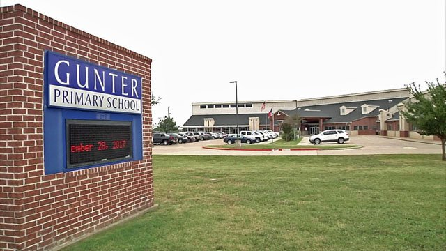 Gunter Elementary is one of just 15 public elementary schools to be recognized by the 2017 National Blue Ribbon Schools program. (KTEN)