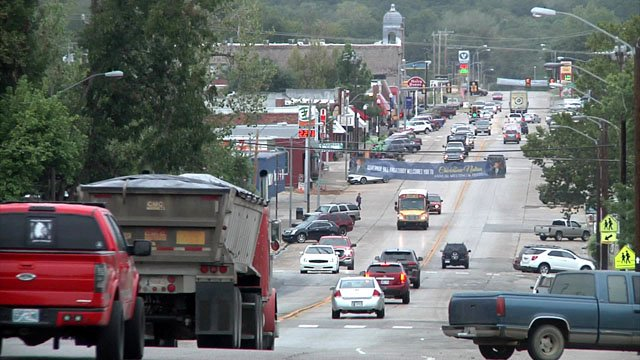 Tishomingo's population could surge by 15 times with the opening of Ole Red. (KTEN)