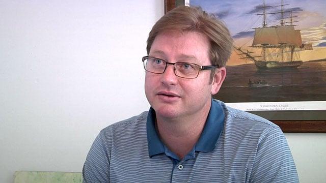 File photo of former Van Alstyne City Manager Frank Baker. (KTEN)