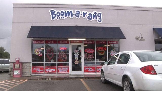 The Boom-a-rang Diner in Davis was burglarized after closing last Saturday night. (KTEN)
