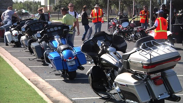As many as 1,000 motorcycles are taking part in the Central Harley Owners Group Rally in Ardmore. (KTEN)