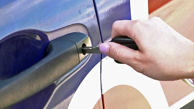 Sherman police emphasize the importance of locking your vehicle to deter burglars. (KTEN)