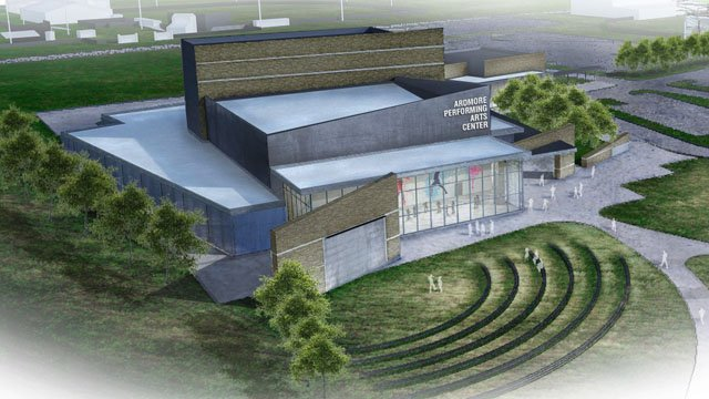 An artist's rendering of the proposed Performing Arts Center for Ardmore City Schools. (Ardmore City Schools)