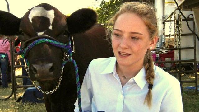 Braylee Cowan, 14, has won thousands of dollars in scholarship money. (KTEN)