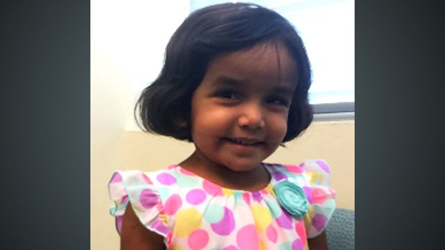 Amber Alert issues for 3-year-old girl