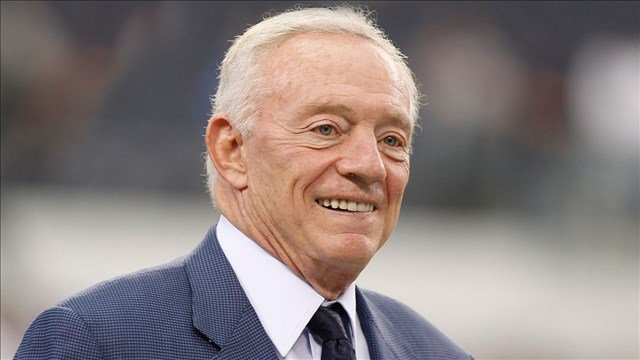 Dallas Cowboys owner Jerry Jones. (Photo: Pro Football Hall of Fame)