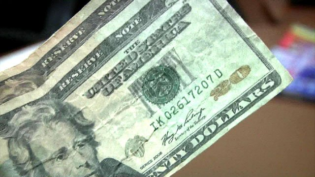 Sherman police say they're seeing an increased number of counterfeit bills. (KTEN)