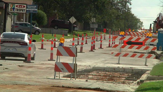 Carter County uses the proceeds from a quarter-cent sales tax to make road repairs. (KTEN)