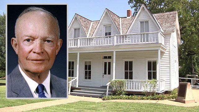 The Eisenhower Birthplace State Historic Site is at 609 South Lamar Avenue in Denison. (KTEN)