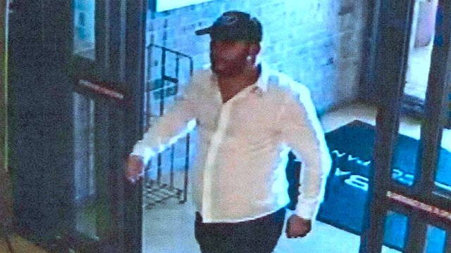 Police said this man is wanted in connection with a business theft on October 6. (Ardmore PD)