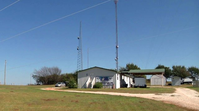 The Gospel Station Network broadcasts to more than 20 radio stations from its headquarters near Ada. (KTEN)