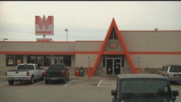 Two Denison police officers were refused service by an employee at this Whataburger restaurant. (KTEN)