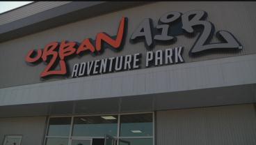 The Urban Air Adventure Park opened in Ardmore on Saturday. (KTEN)