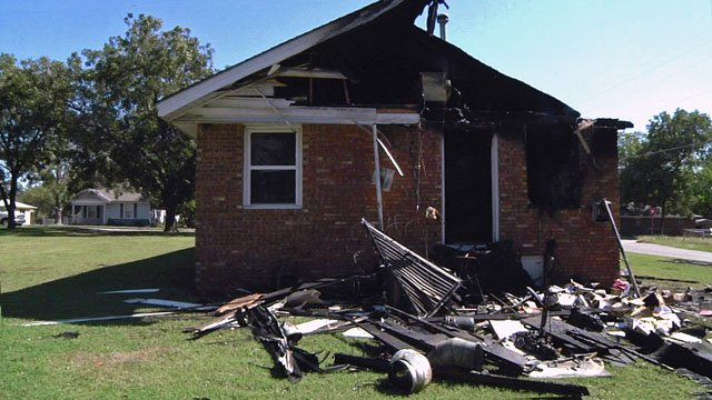 The Southwest Church of Christ was heavily damaged by an electrical fire on October 9. (KTEN)