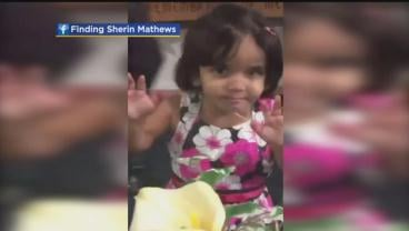 Sherin Mathews was reported missing on October 9. (CNN)