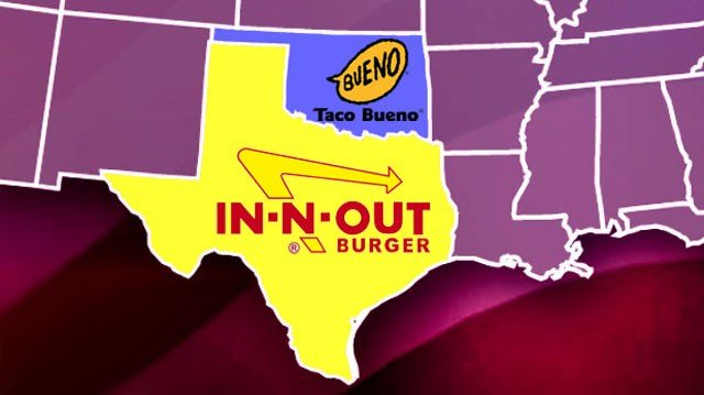 A survey by Business Insider and Foursquare identified the most popular fast food restaurants. (KTEN)