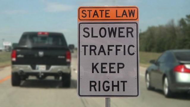 New left lane rules start November 1 in Oklahoma. (KTEN)