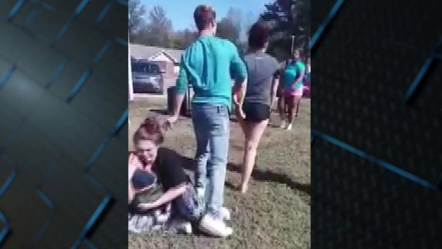 An online video shows Janie McCoy after being assaulted by a teenager. (YouTube)