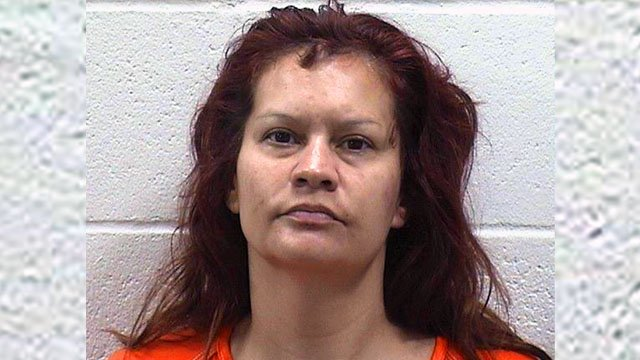 Vanessa Gutierrez is charged with assault and battery with a dangerous weapon. (Ada PD)