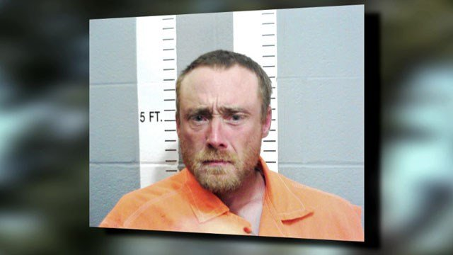 "Police said Thomas Boss was ""growling like a zombie"" when he was apprehended. (Ardmore PD)"