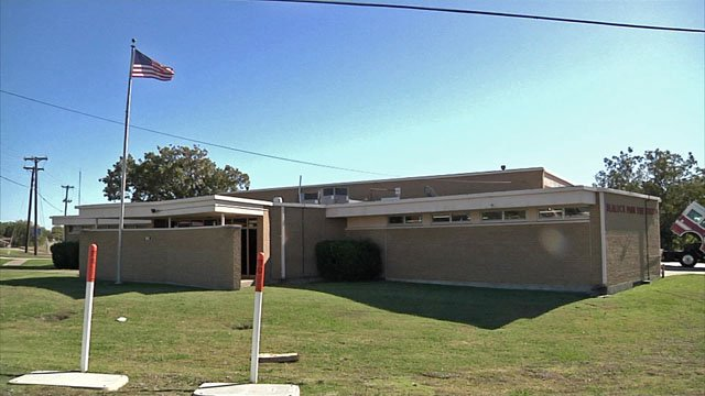 Sherman's Fire Station No. 4 will be relocated. (KTEN)