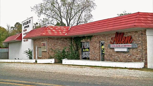 Robert Allen was found dead at the family's business on Halloween night. (KTEN)
