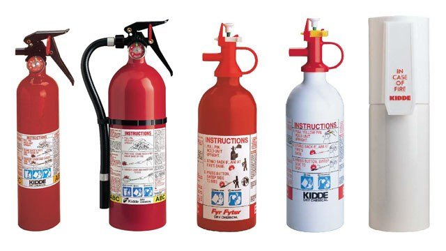 More than 40 million Kidde brand fire extinguishers are being recalled. (CPSC)