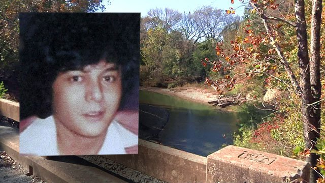 Guadalupe Goana's body was found in a creek near Kingston in 1985. (KTEN)