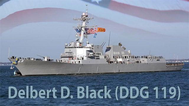 The USS Delbert D. Black (US Navy photo illustration)