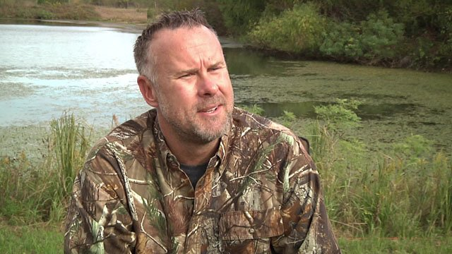 Carter Womack says his deer-hunting sanctuary is a labor of love. (KTEN)