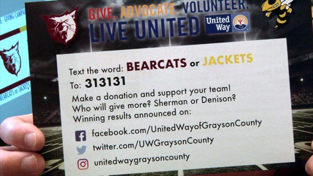How to contribute to the Battle of the Ax Giving Campaign. (KTEN)