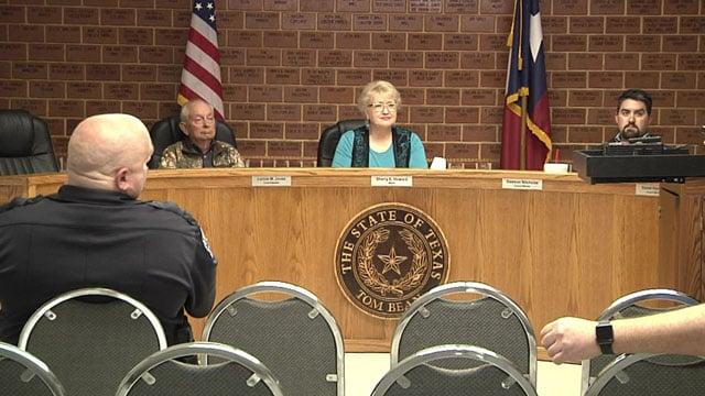 The Tom Bean City Council still has an empty seat. (KTEN)