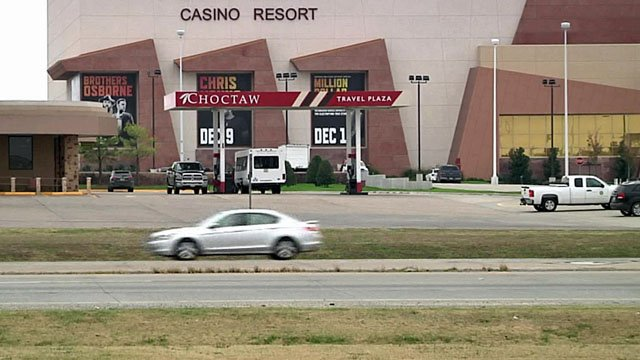 A man was struck and killed outside the Choctaw Casino in Durant. (KTEN)